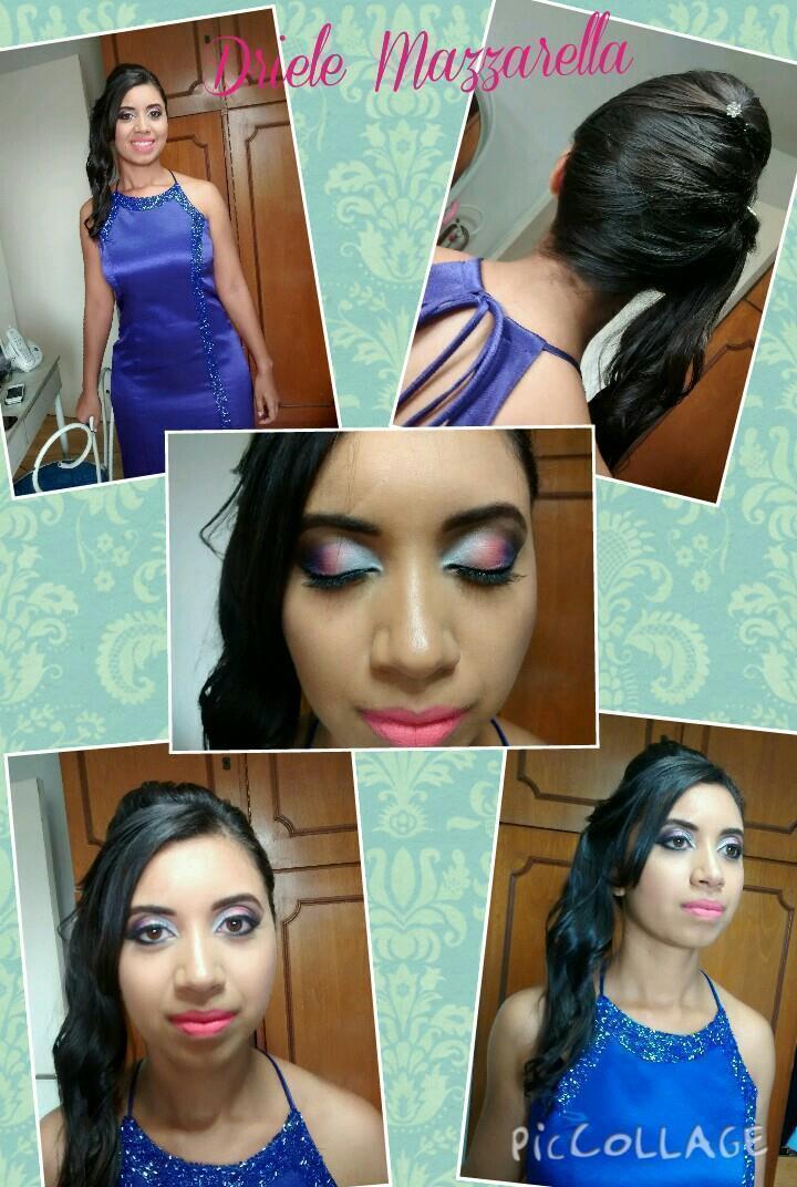 Produção para Madrinha Make e Hair por mim maquiador(a)