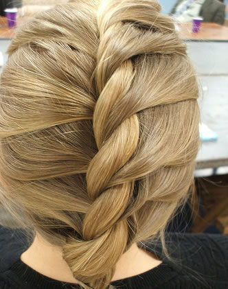 Tranças torcida - Penteado cabeleireiro(a)