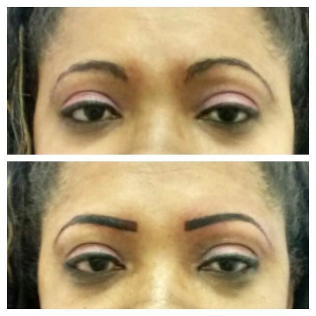Dermopigmentação maquiador(a) designer de sobrancelhas micropigmentador(a)