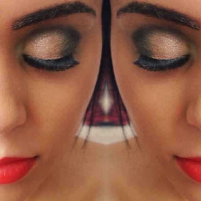 Maquiagem de uma madrinha. #make #makeup #madrinha #byme cabeleireiro(a) maquiador(a)