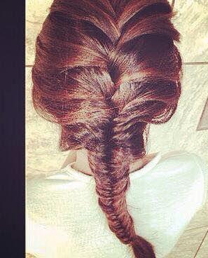 Ttrança escama de peixe #trança #penteado #escamadepeixe cabeleireiro(a) maquiador(a)
