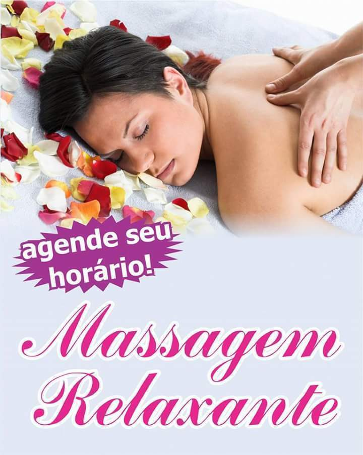 Massagem Relaxante  esteticista