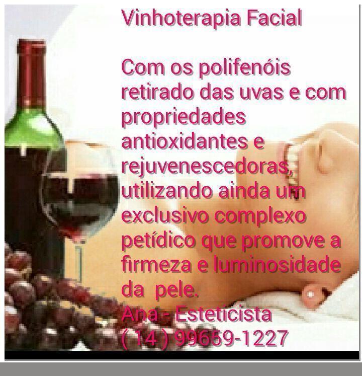 Vinhoterapia  esteticista