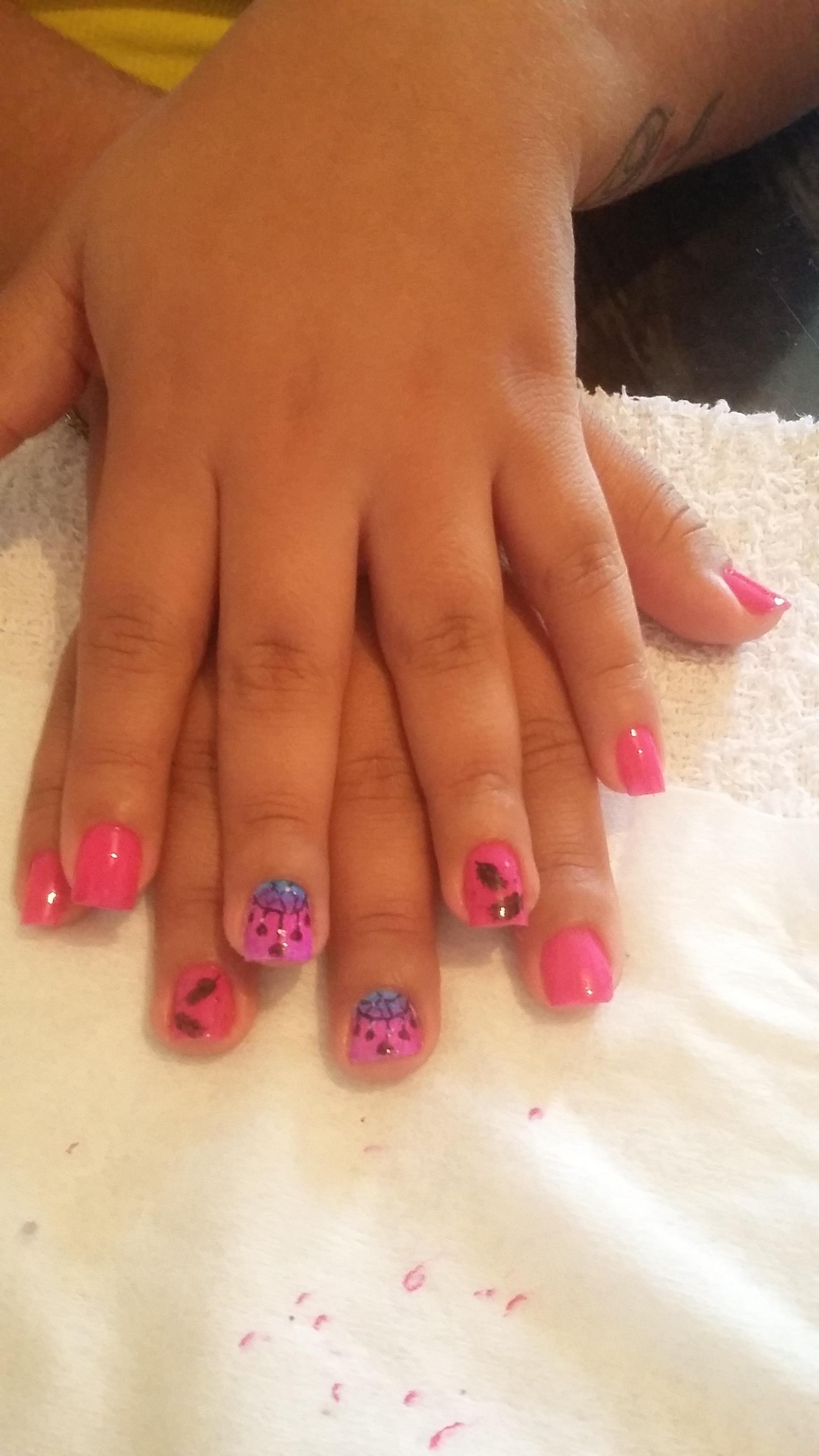 Unhas decoradas manicure e pedicure
