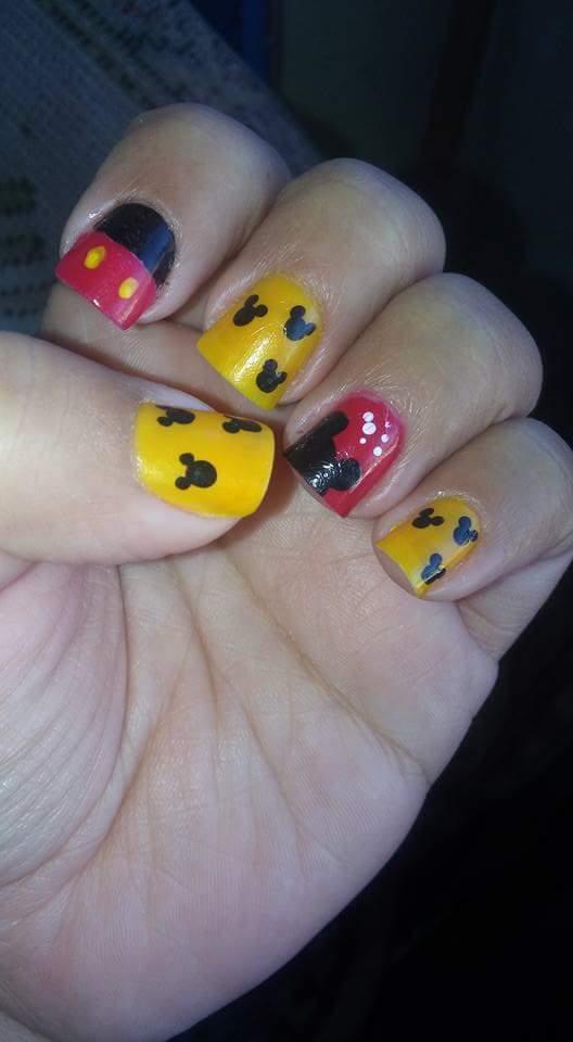Unhas do Mickey manicure e pedicure