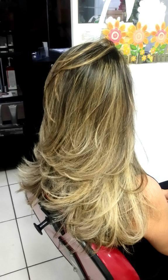 maquiagem e penteado e corte e cor, e luzes...., Vani Gomes. A satisfação de realizar a sua vontade....., eu adoro trabalhar esta vaidade. cabeleireiro(a) stylist maquiador(a) massagista visagista