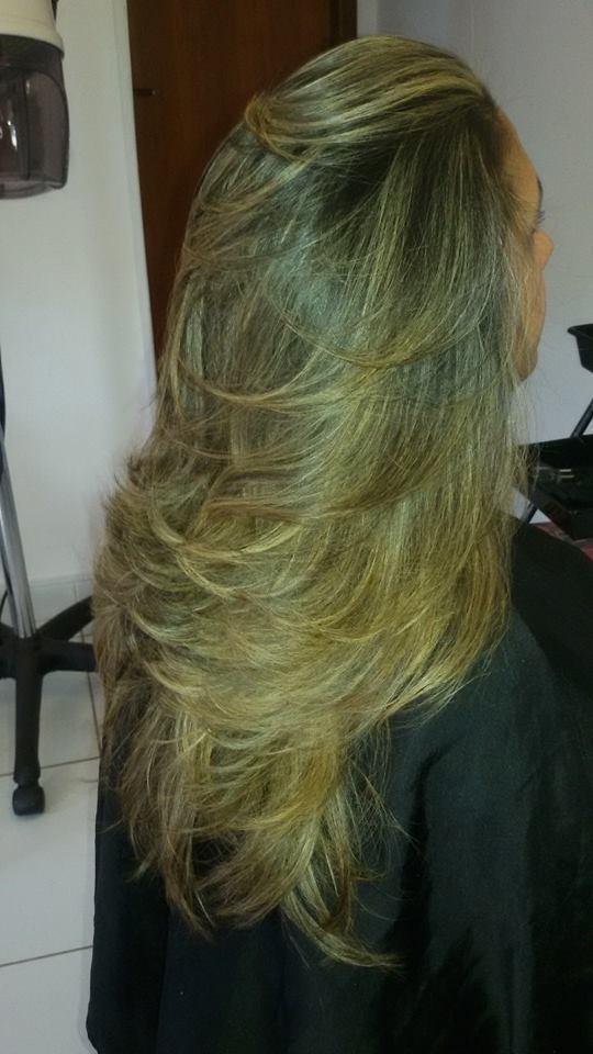 maquiagem e penteado e corte e cor, e luzes...., Vani Gomes. Fui eu!! Vani Gomes, que fiz isto. É lindo ne! cabeleireiro(a) stylist maquiador(a) massagista visagista