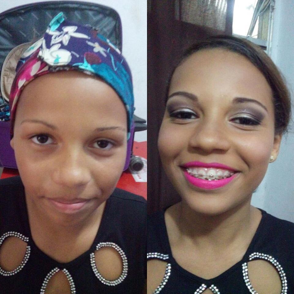 make Antes e depois maquiador(a) outros