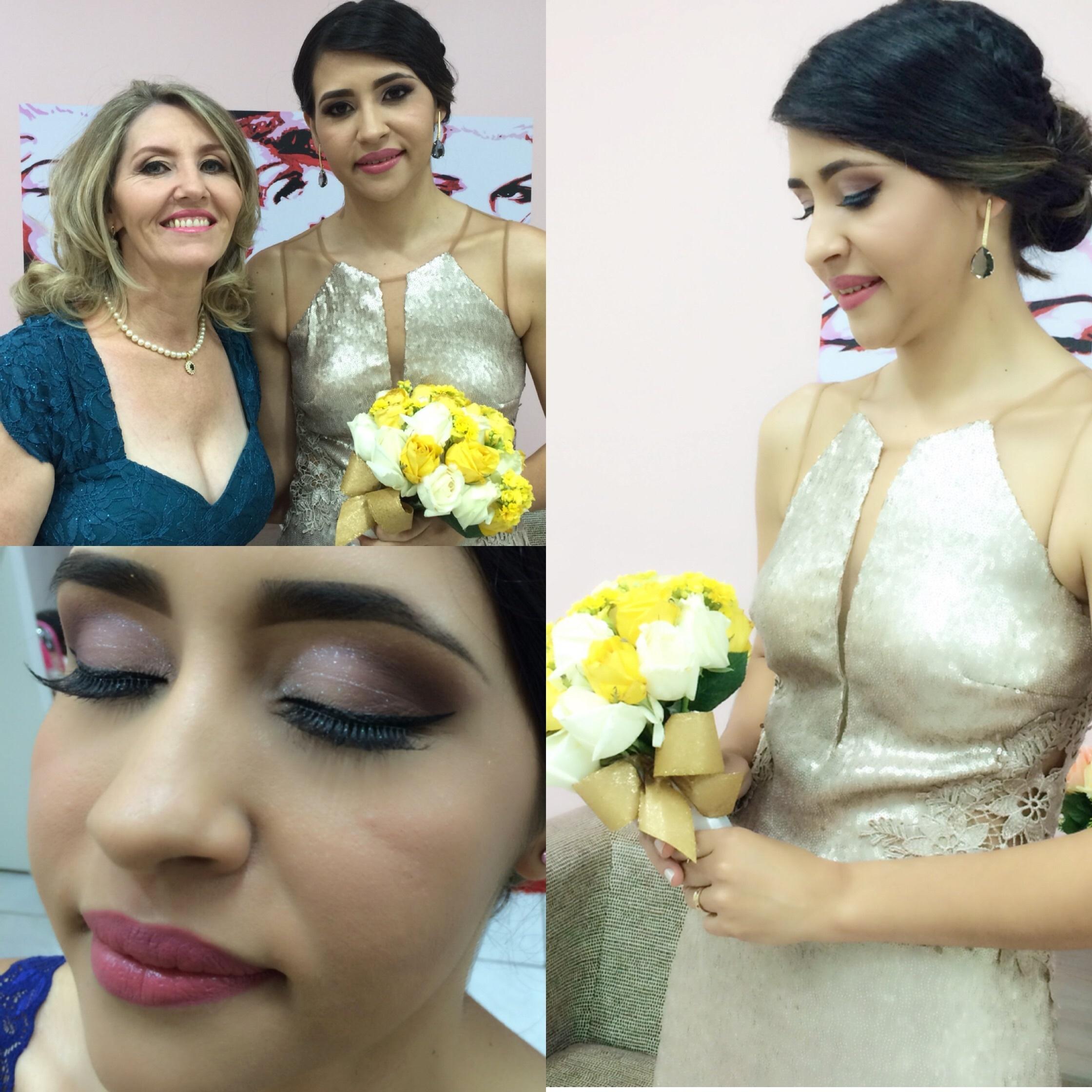 Make Up Noiva Maquiagem e cabelo feitos por mim! maquiador(a) designer de sobrancelhas micropigmentador(a)