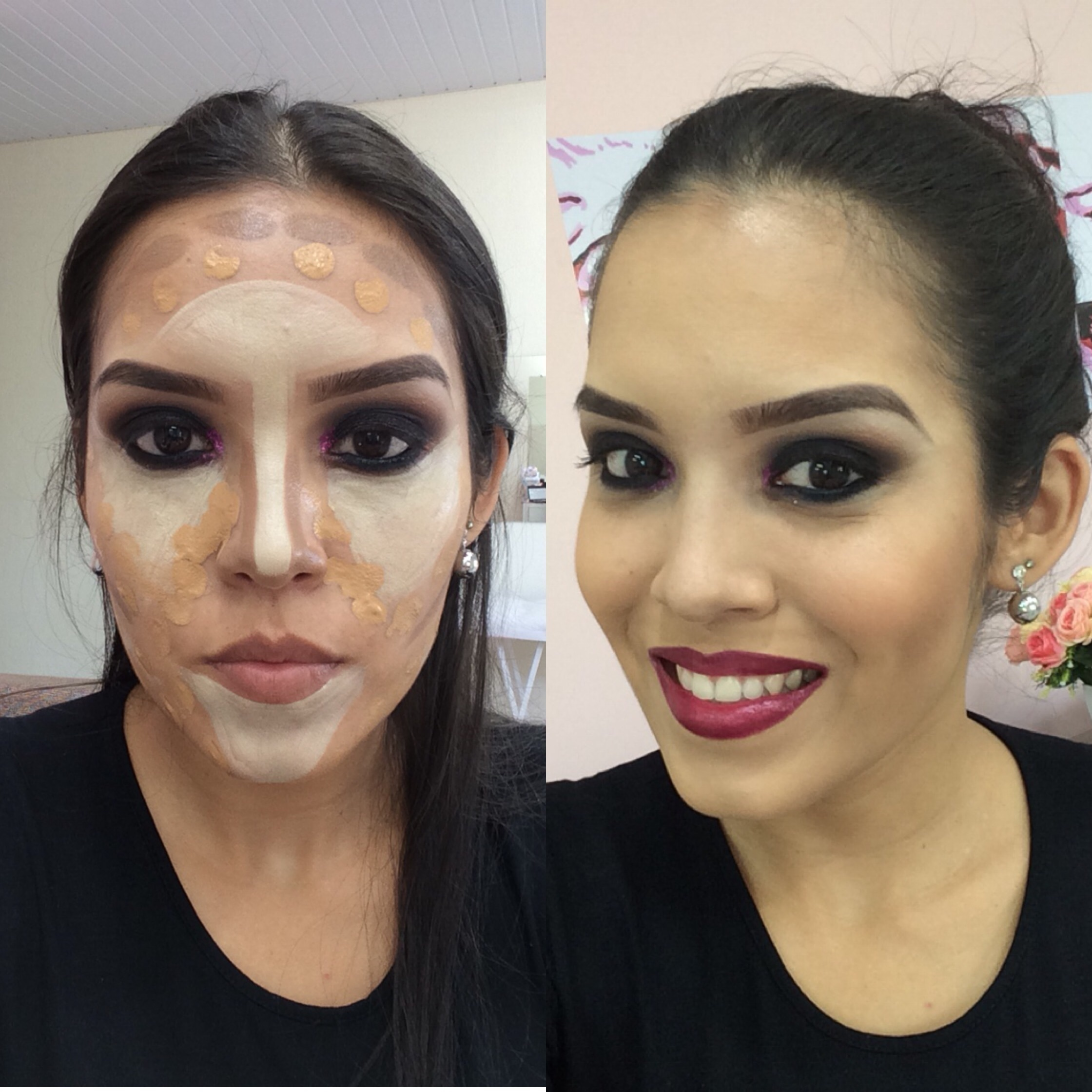 Automaquiagem  maquiador(a) designer de sobrancelhas micropigmentador(a)