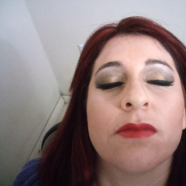 um dos meus trabalhos maquiador(a)