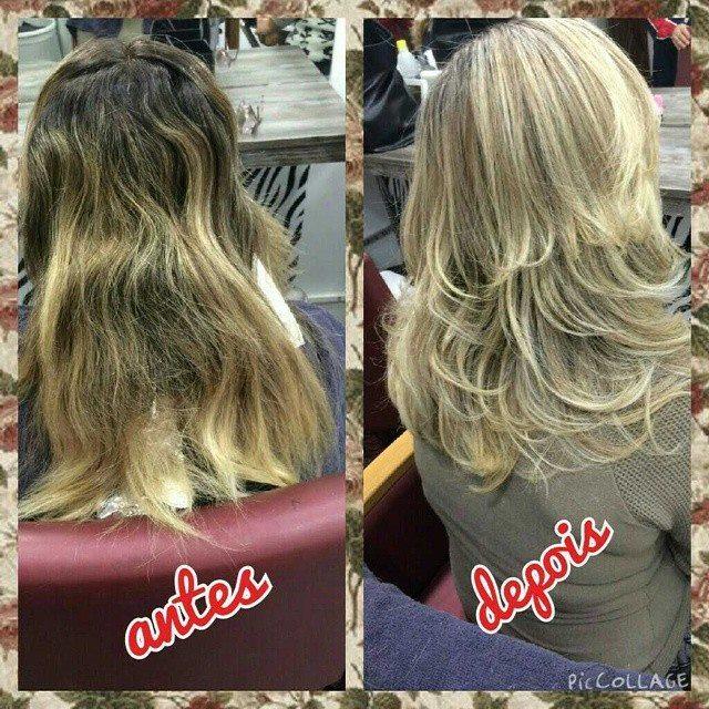 coloração, luzes  cabelo  cabeleireiro(a)