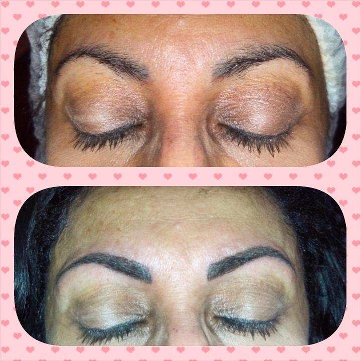 Micropigmentação fio a fio dermopigmentador(a) designer de sobrancelhas maquiador(a)