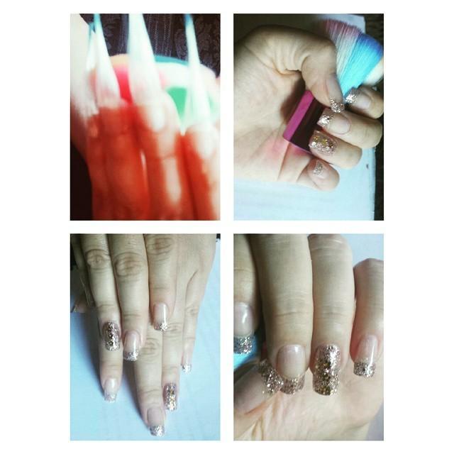 unhas de fibra encapsulado manicure e pedicure