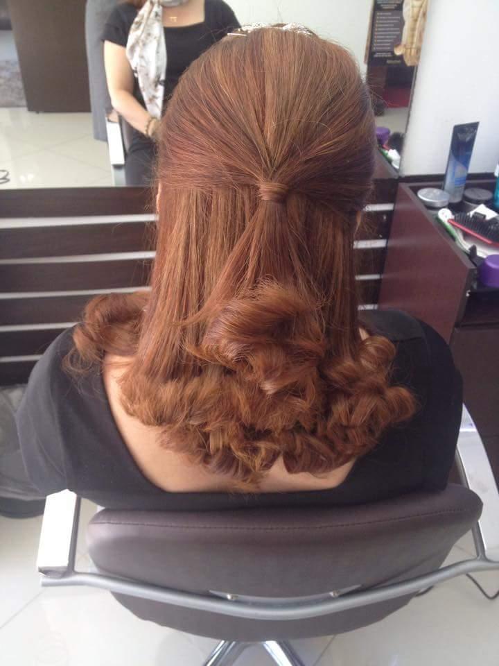 Meio preso simples pra todas as ocasiões cabeleireiro(a) barbeiro(a)