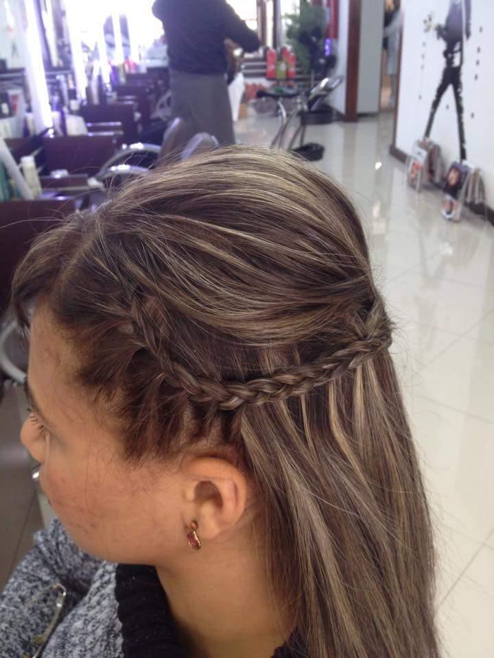 Meio preso para cabelo curto só demonstração de opção pra penteado curto  cabeleireiro(a) barbeiro(a)