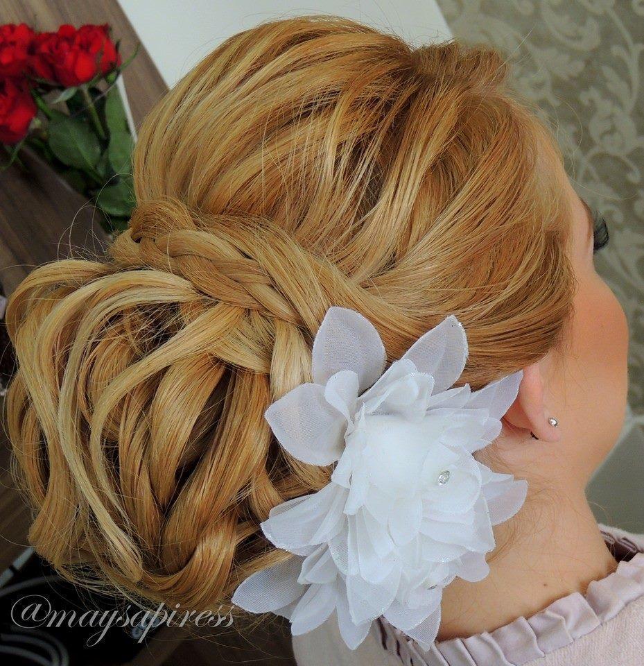 Noiva  Coque trabalhado cabeleireiro(a) stylist consultor(a) em imagem