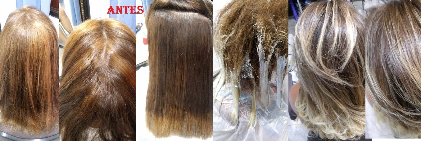 correção de cor + hombré hair foi feito devolução de pigmentos nas parte manchadas e depois feito ombre hair finalizando com escova barbeiro(a)