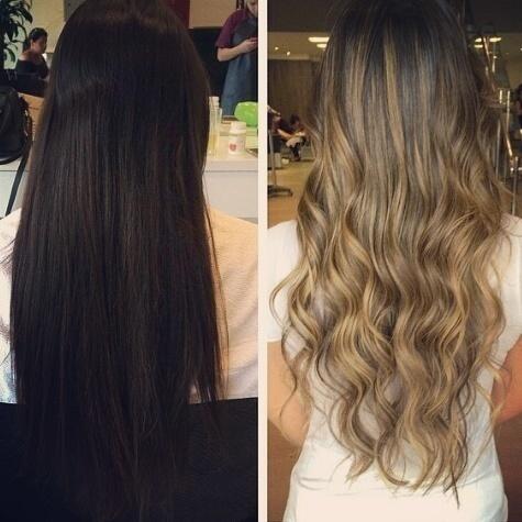 Antes e depois cabeleireiro(a)