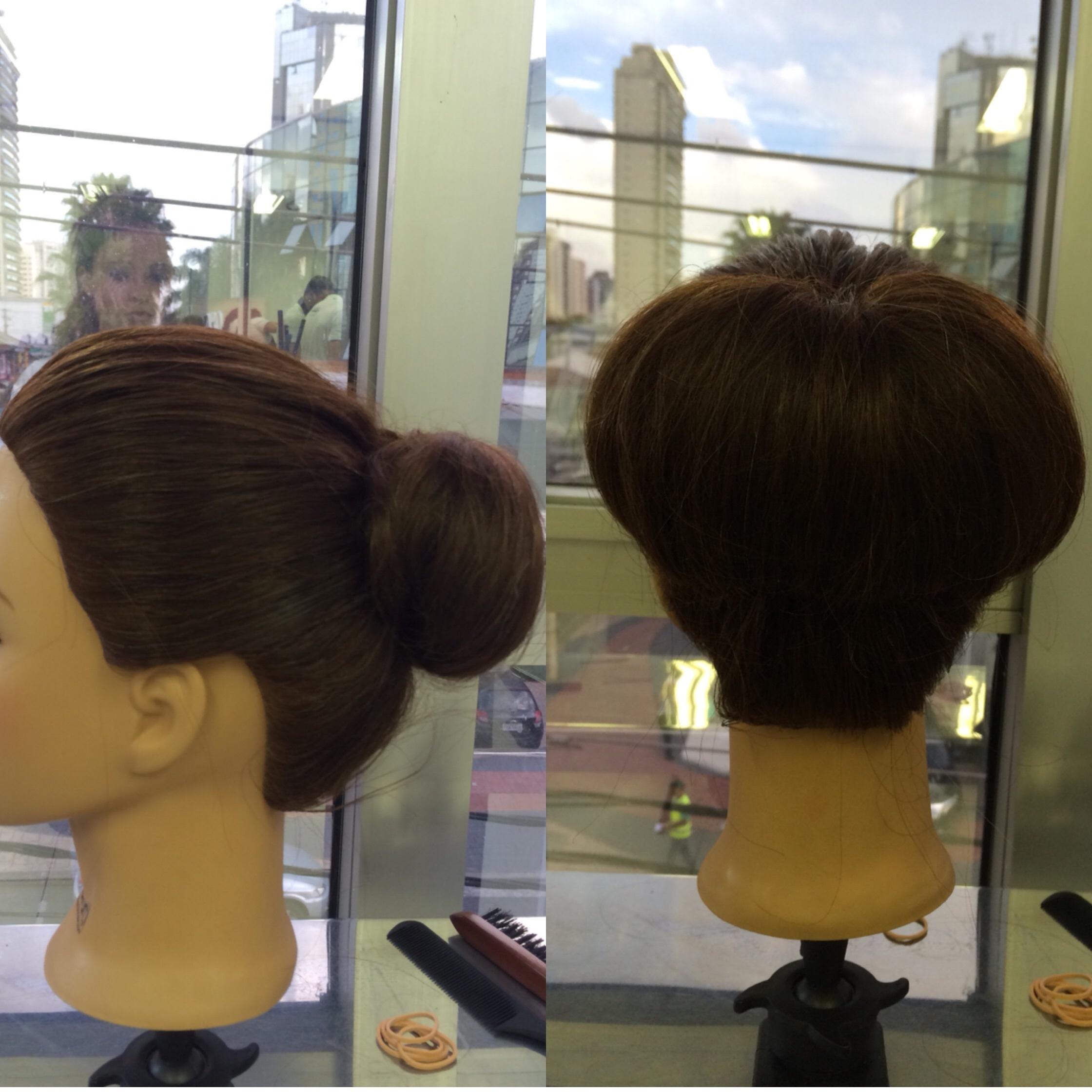 Penteado chique  auxiliar cabeleireiro(a)