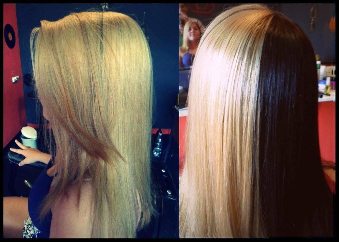 Descoloração  cabeleireiro(a) barbeiro(a) esteticista