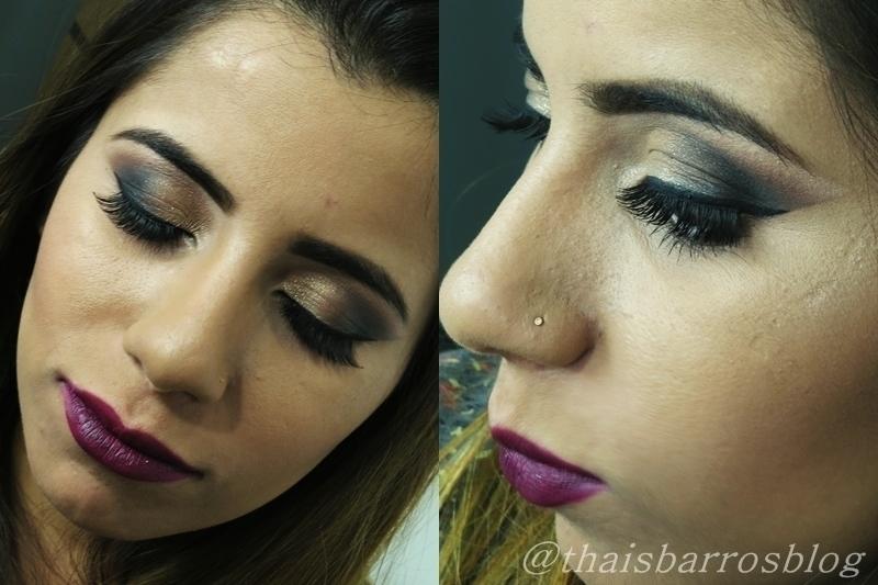 Maquiagem para festa Maquiagem Esfumada Elegante #maquiagem #thaisbarros maquiador(a) designer de sobrancelhas