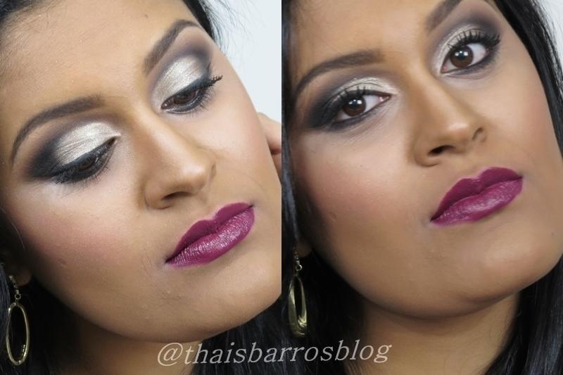 Maquiagem mais Ousada Maquiagem Iluminada com Batom Cereja lindo! #maquiagem #makeup #thaisbarros maquiador(a) designer de sobrancelhas