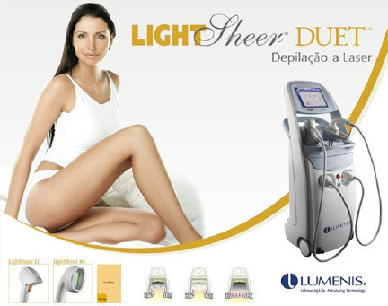 LIGHT SHEER DUET  Depilação a laser definitiva. ... pelos nunca mais. ... representante comercial representante comercial