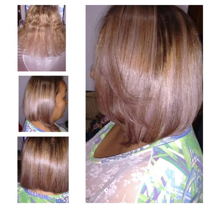 alguns dos meus trabalhos auxiliar cabeleireiro(a)