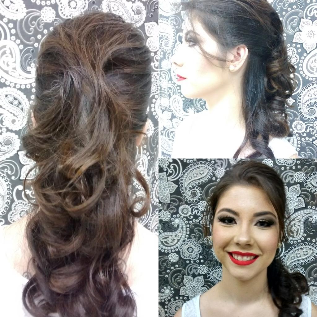 produção cabelo maquiagem