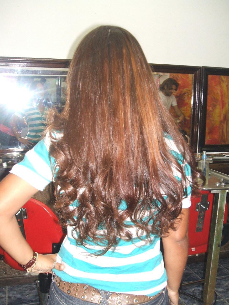 Alongamento de nó italiano Finalizado com corte, hidratação e escova modelada! maquiador(a) cabeleireiro(a)