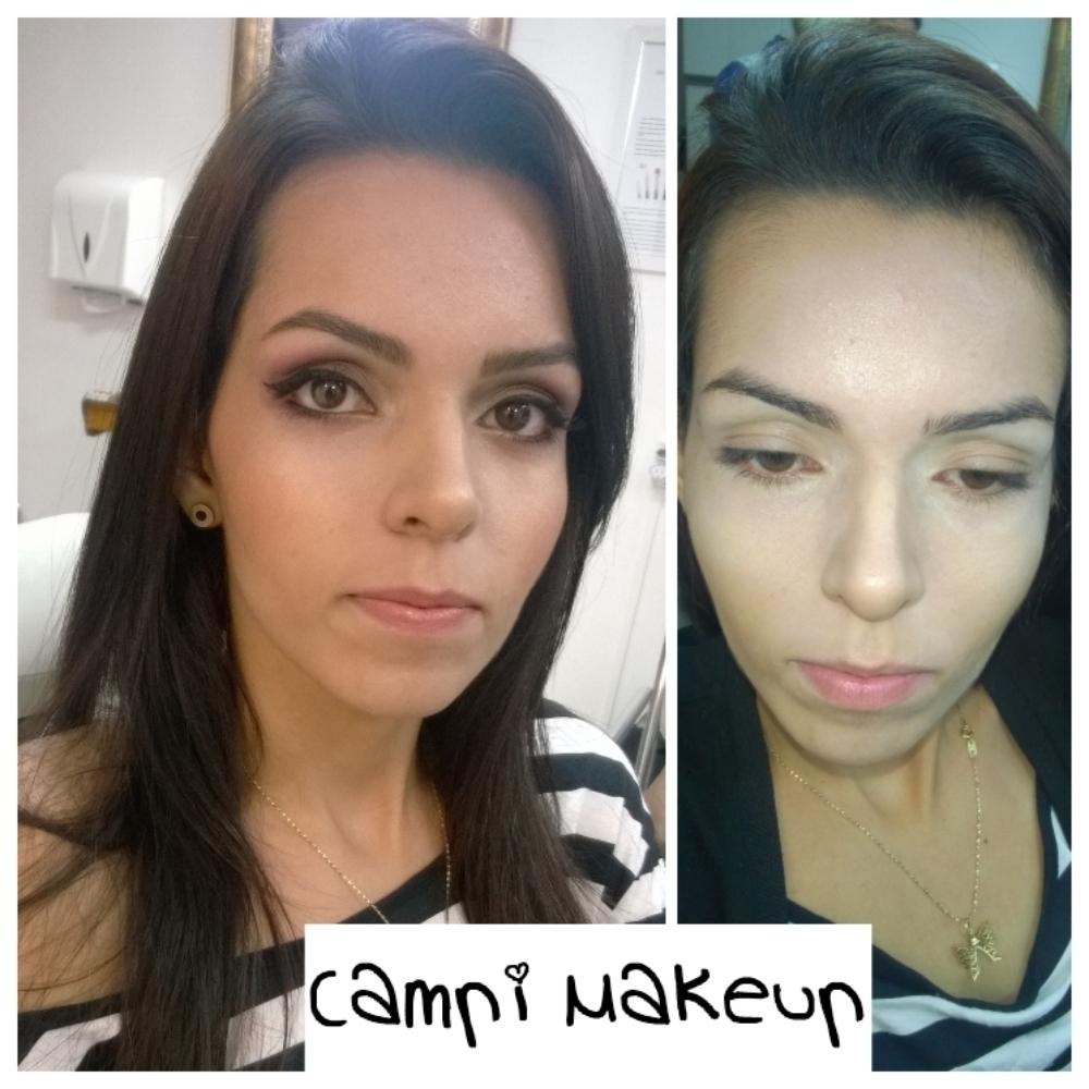 Foto de antes e depois de maquiagem de noiva maquiador(a) cabeleireiro(a)