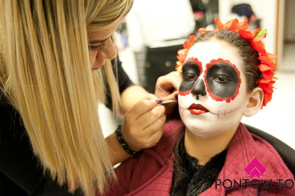 Caveira Mexicana maquiagem  maquiador(a) esteticista designer de sobrancelhas