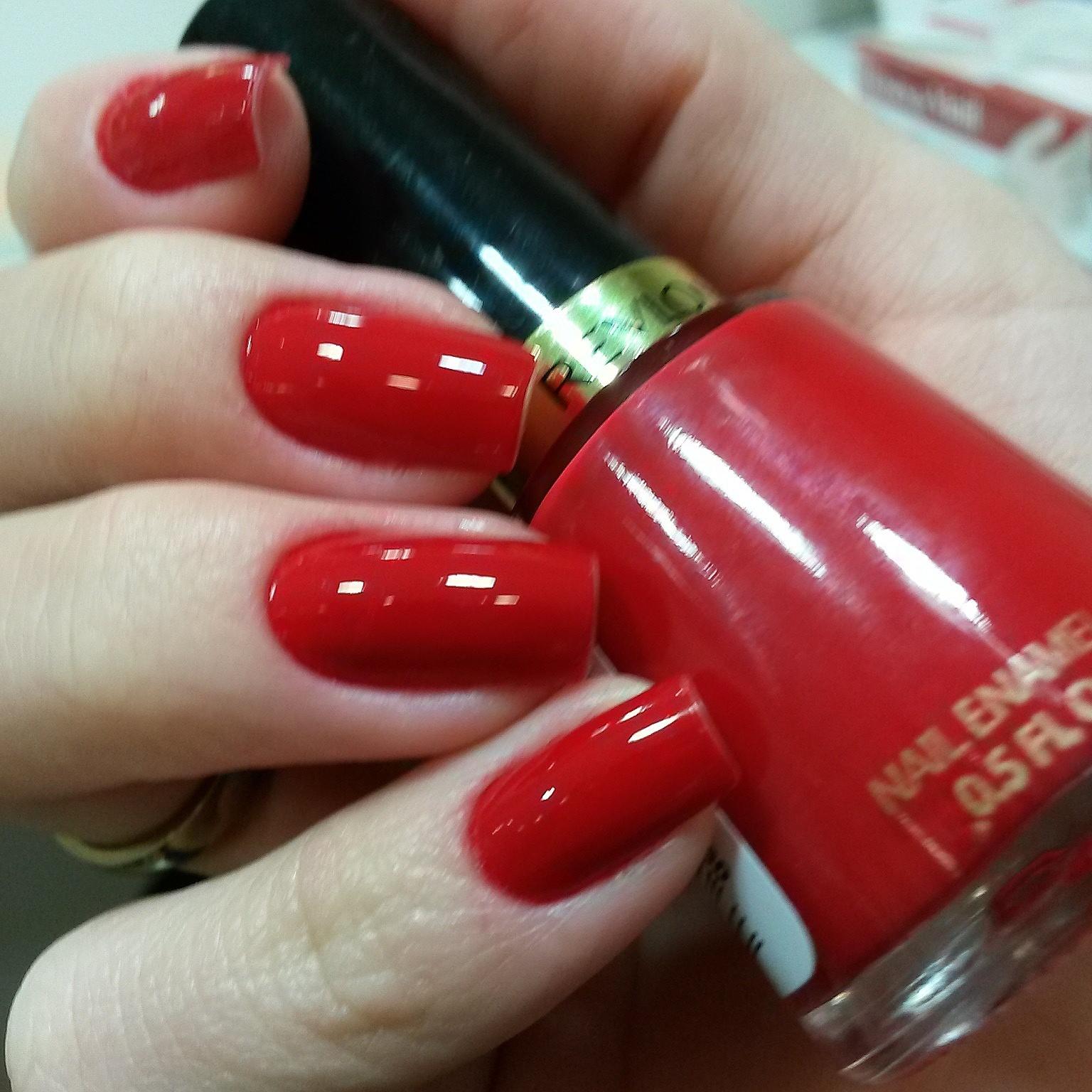 revlon Red. ... minha unha unhas  manicure e pedicure depilador(a)