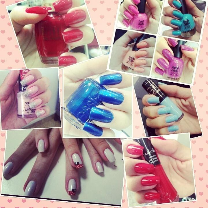 unhas de uma cliente amiga amada manicure e pedicure depilador(a)