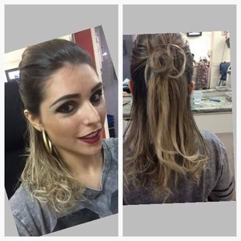 cabelo  designer de sobrancelhas maquiador(a)