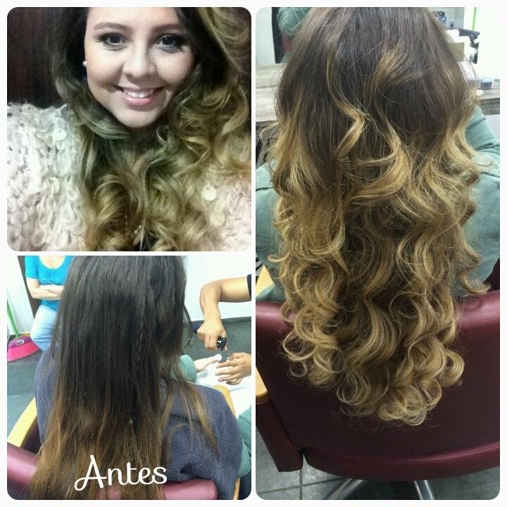 cachos, luzes, ondulado, festa, balada, cabelo  cabeleireiro(a)