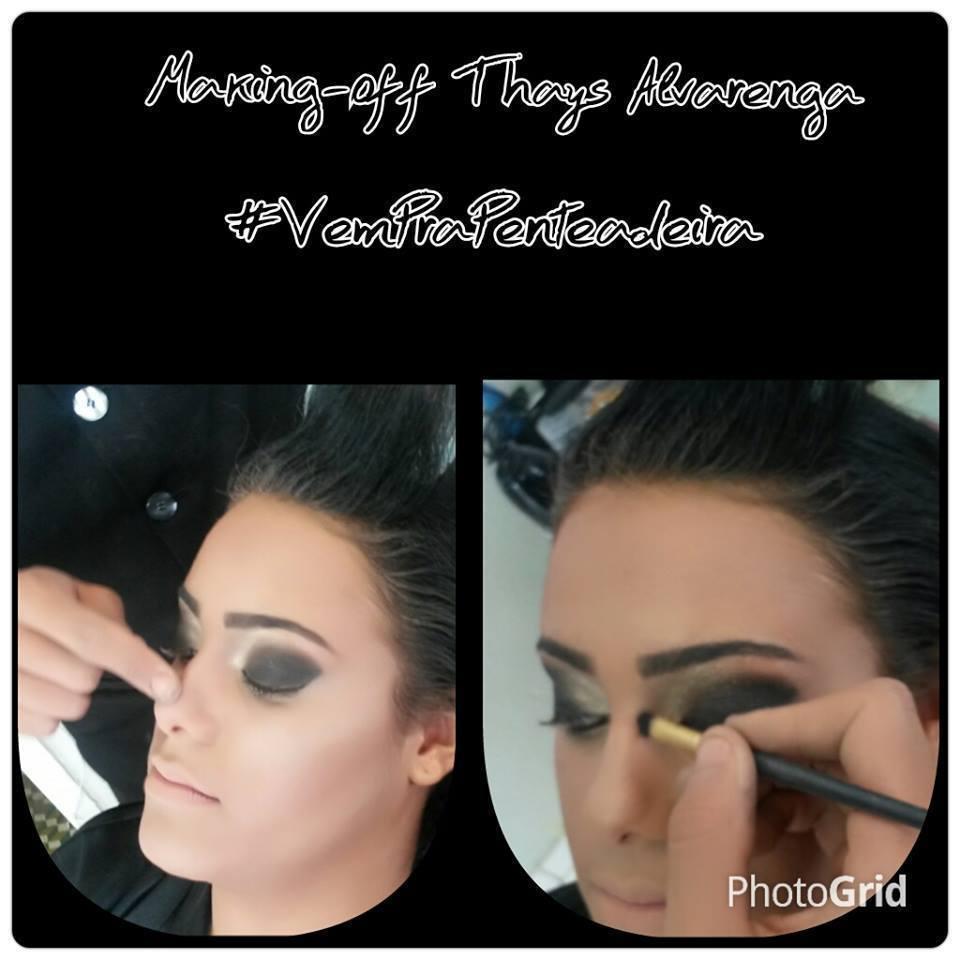 Making Of Blogger Makeu-up in Blogger @thaysalvarenga maquiador(a) designer de sobrancelhas cabeleireiro(a) stylist