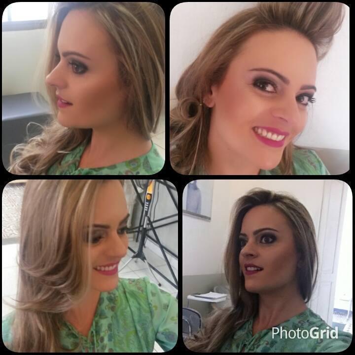 Make Up And Hair Blond and Make maquiador(a) designer de sobrancelhas cabeleireiro(a) stylist