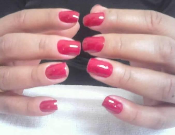 mão manicure e pedicure