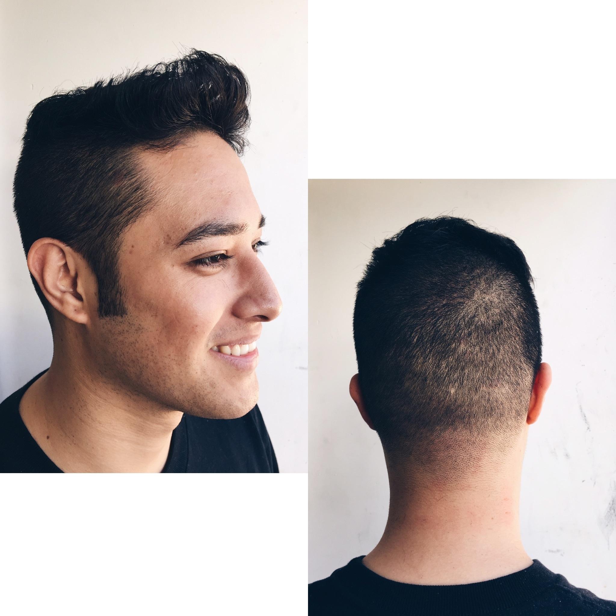 Corte Degradê cabeleireiro(a) maquiador(a)