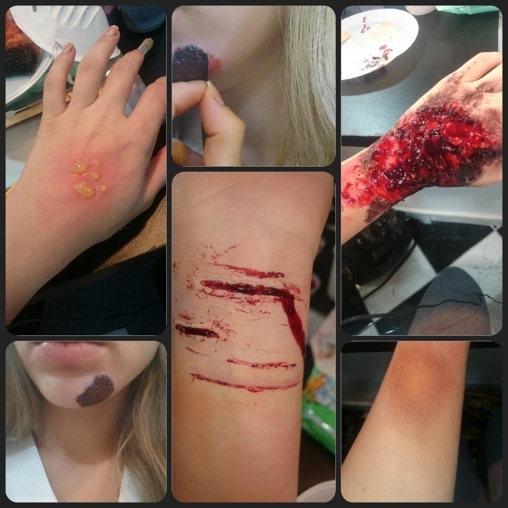 MAquiagem Realista Maquiagem com finalidade realista maquiador(a)