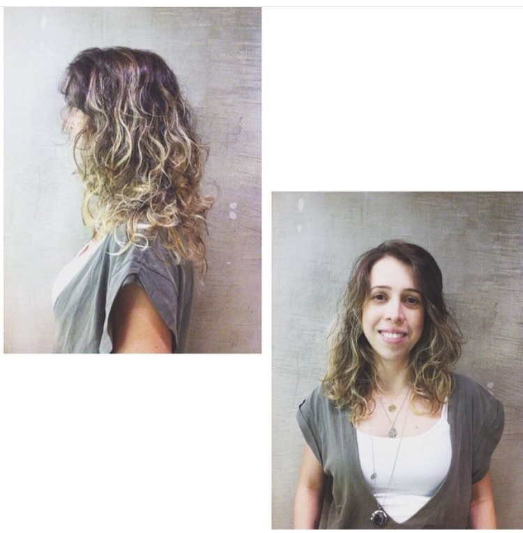 Ombre natural  cabeleireiro(a) maquiador(a)