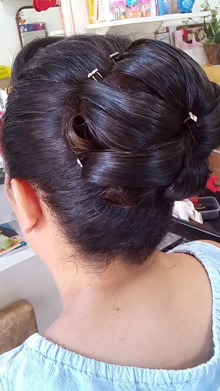 penteado, coque cabelo  cabeleireiro(a)
