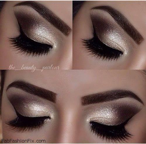 marrom, dourado maquiagem  maquiador(a)