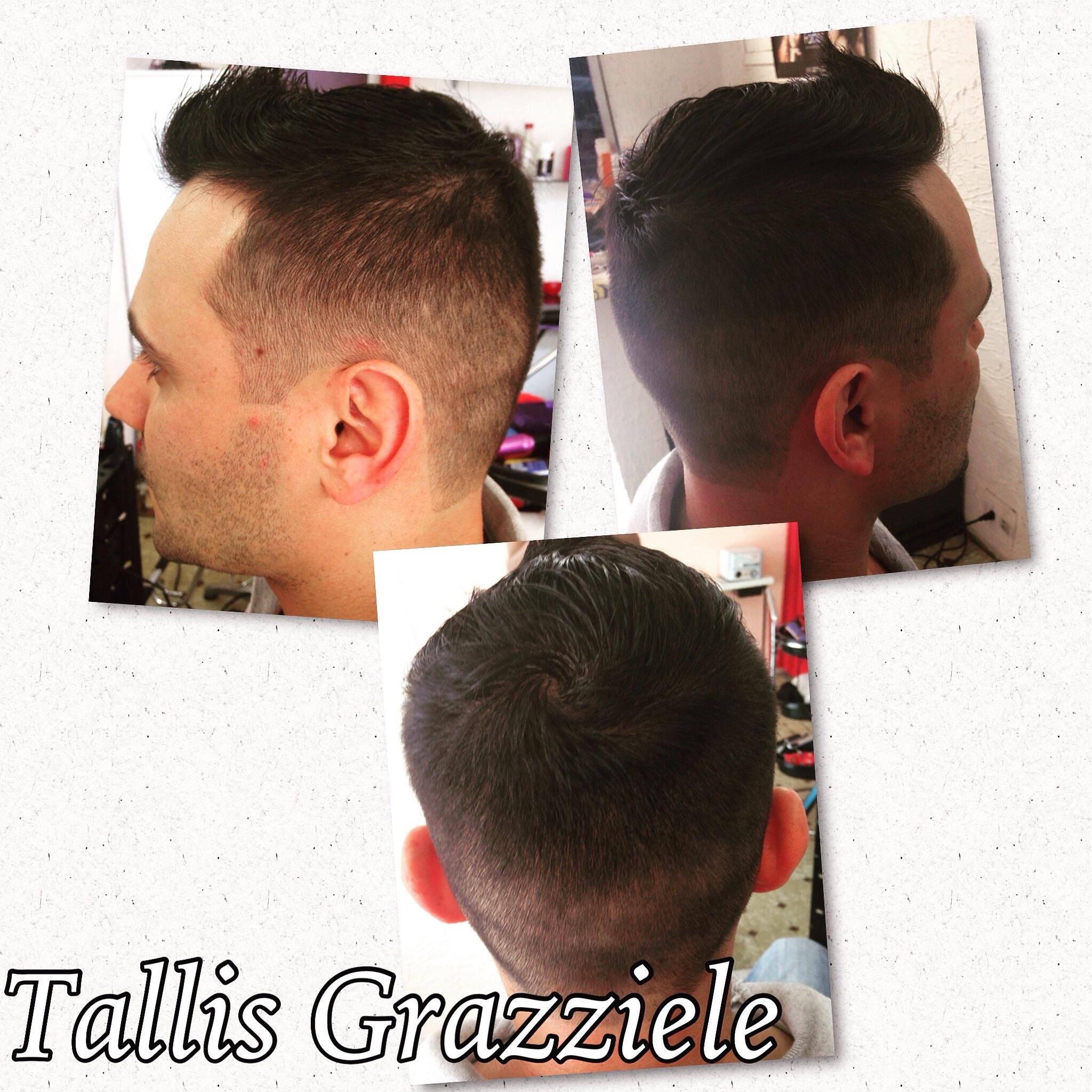 Corte degradê  cabeleireiro(a)
