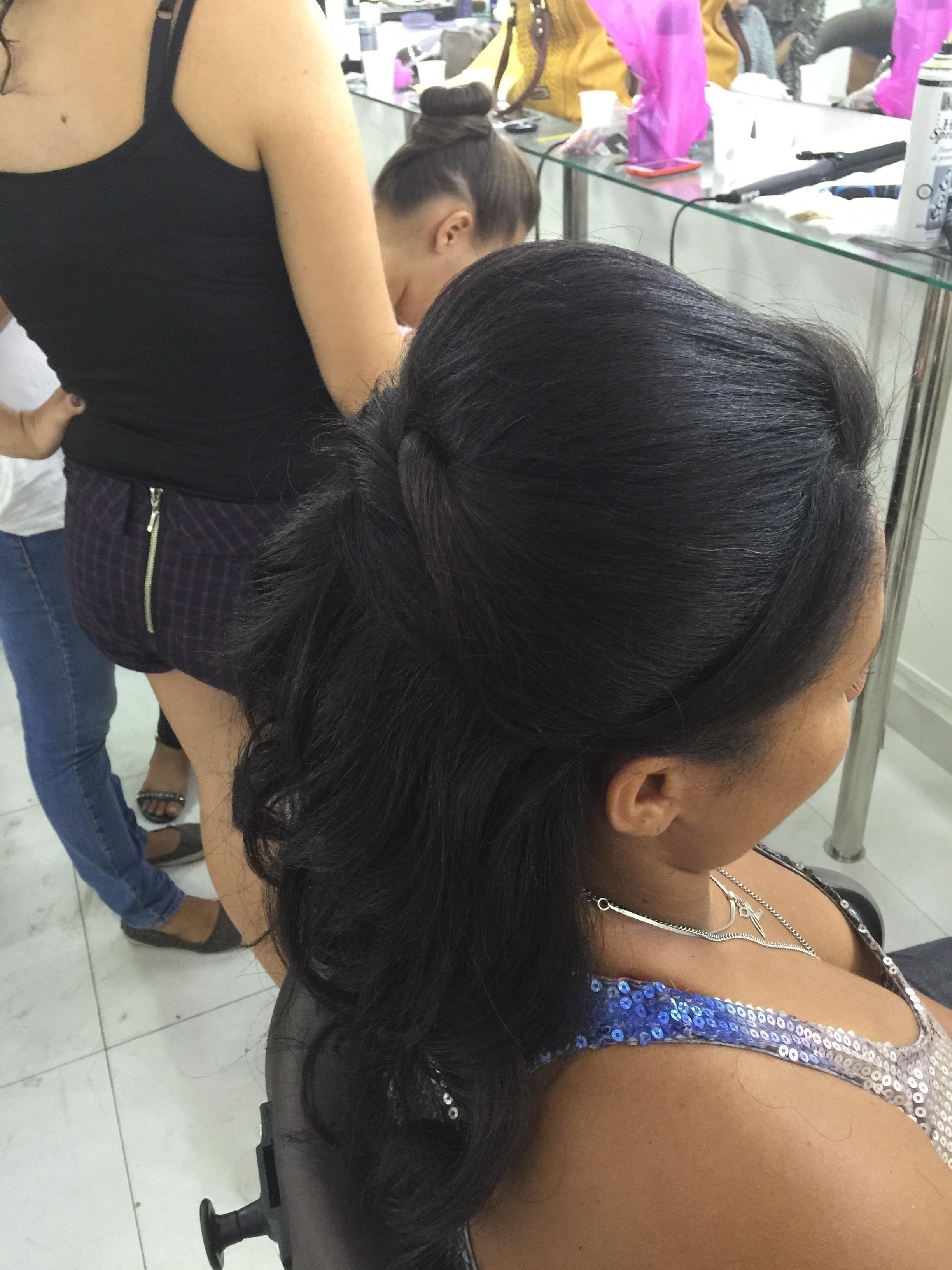 Penteado Semipreso maquiador(a)