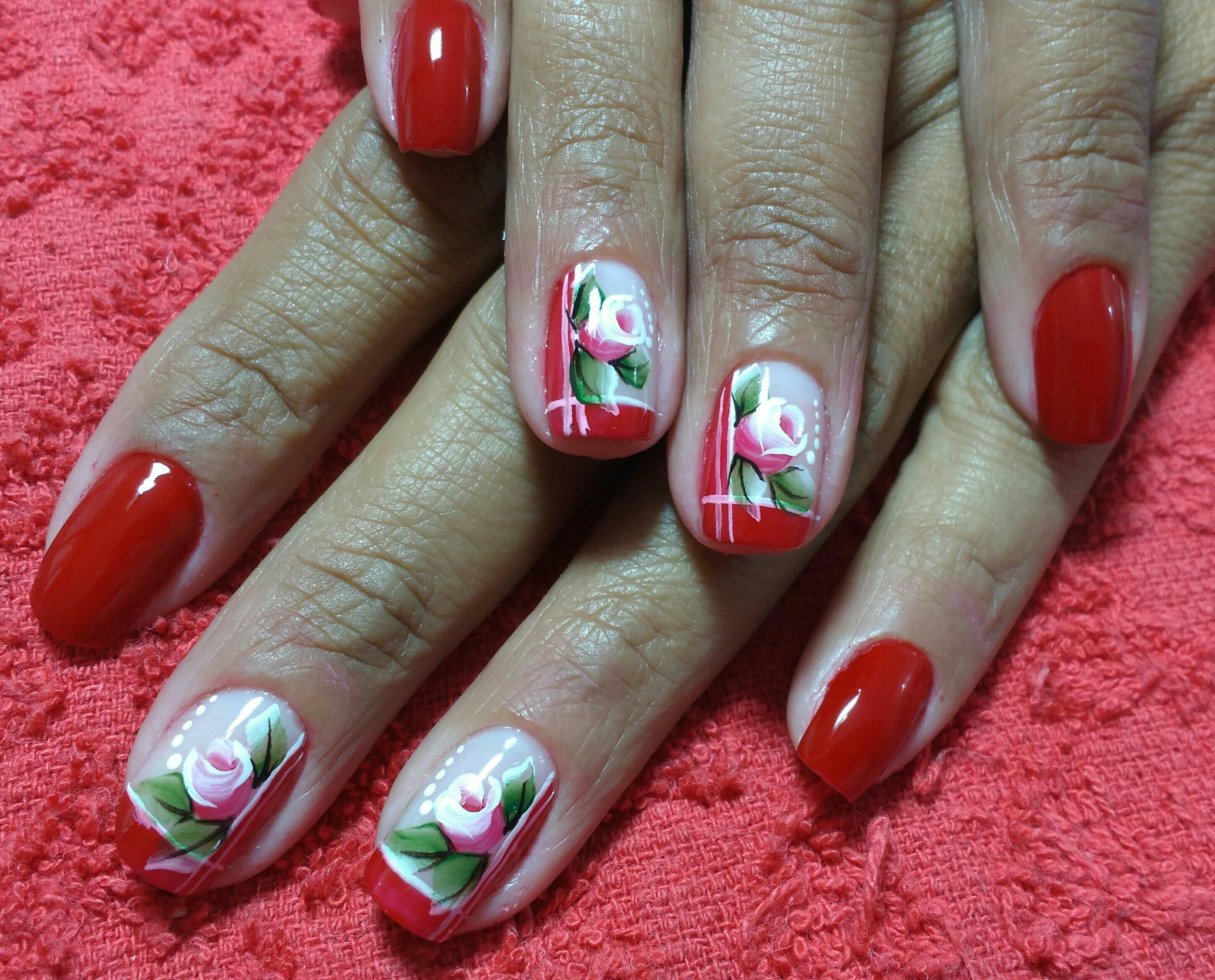 manicure e pedicure nail designer