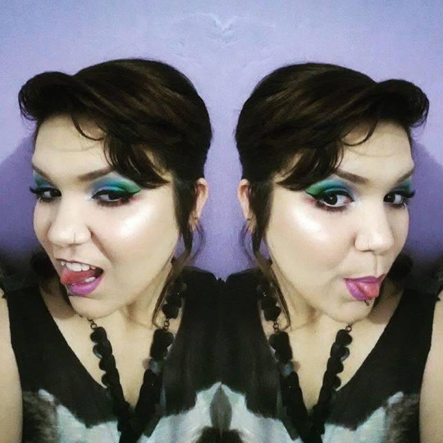 #makeuo #maquiagem #colorfull #colorida #dramática #shine #glamour maquiador(a)