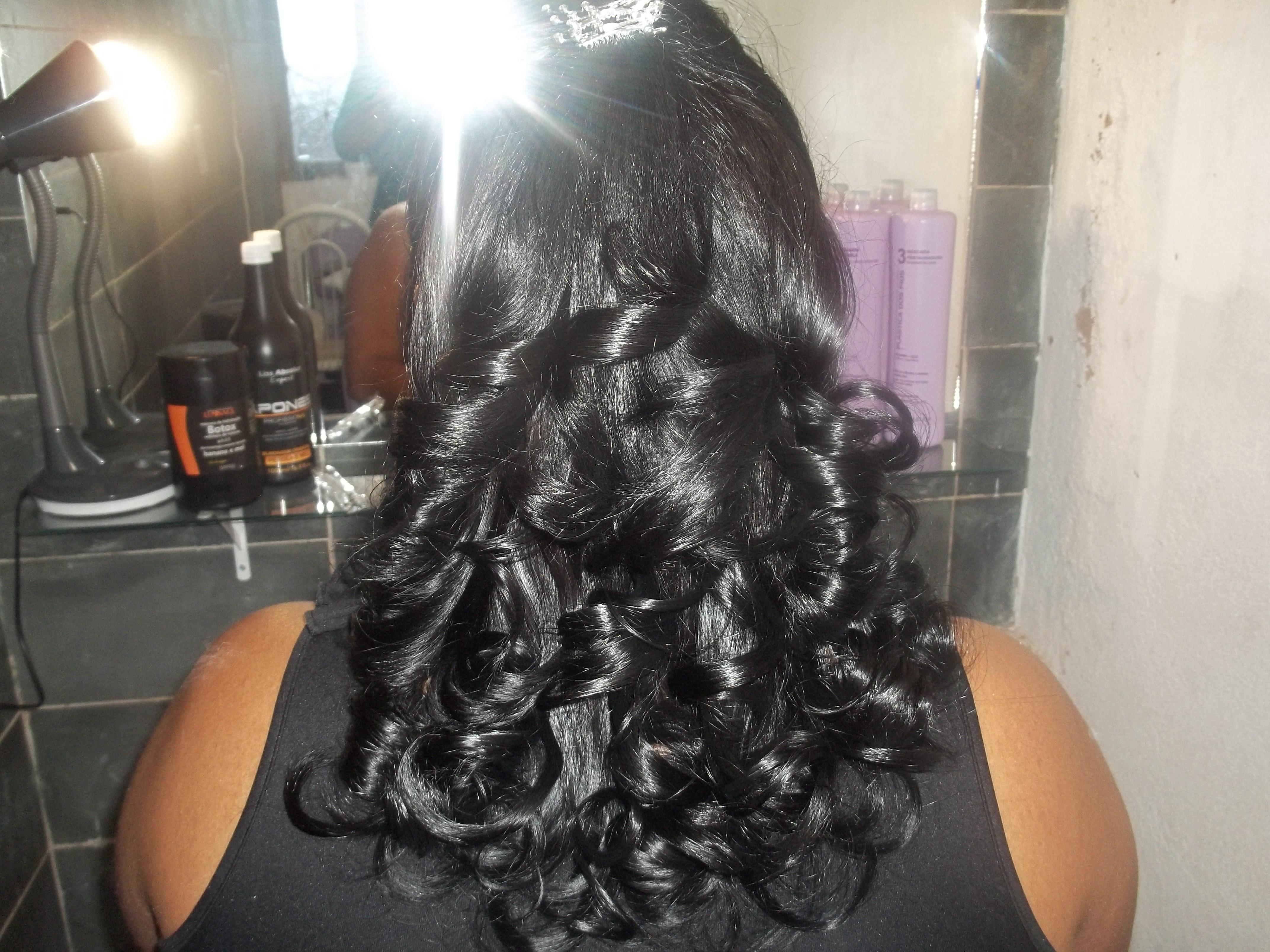 Coloração,escova e penteado. cabeleireiro(a)